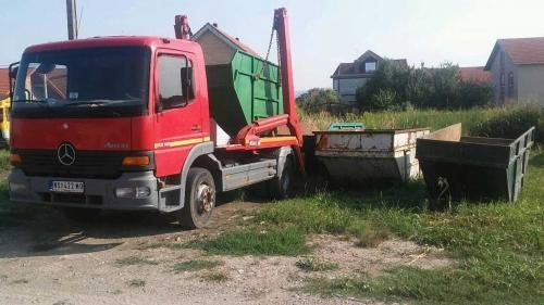 Odvoz šuta i komunalnog otpada
